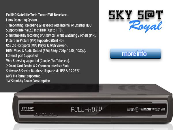 Sky S@t Royal